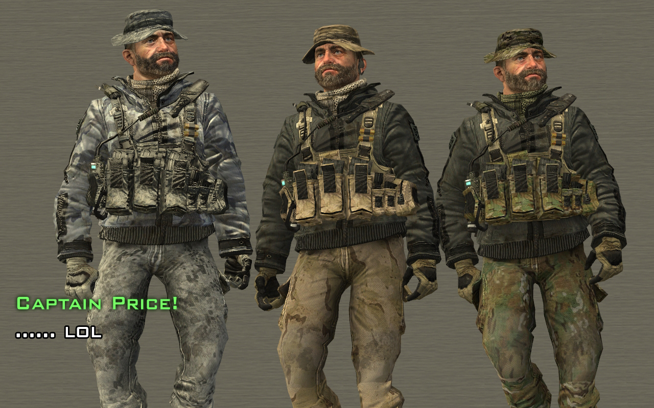 Task Force 141 Captain Price