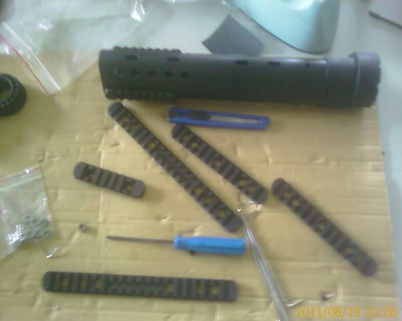Mabull Airsoft PRI Handguard Preview