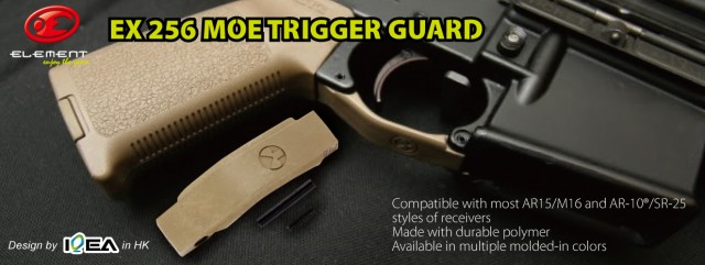 EX 256 Element Magpul MOE TRIGGER GUARD2