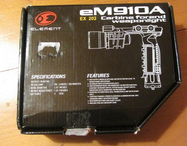 Review Element M910A box