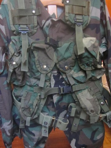 M81 Woodland Load Bearing Vest LBV