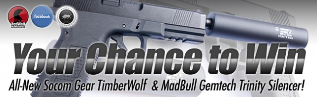 Redwold Timberwolf concurso giveaway