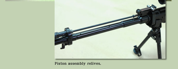 Piston Assembly Real Sword SVD GBB