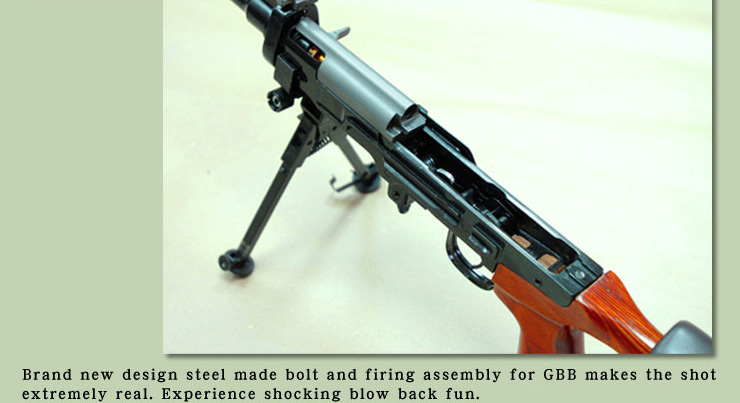 Real Sword SVD GBB Bolt