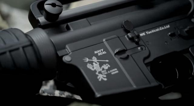 WE M4 AEG Navy Seal Markings