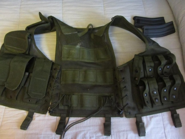 Blackhawk Omega Operator 40mm Vest OD Old gen