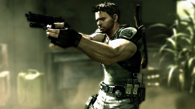 Chris Redfield equipment