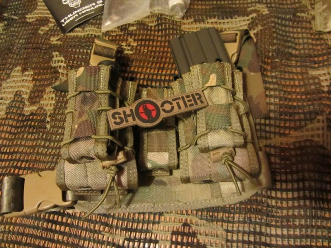 TMC High Hang Costa Ludus Leg rig Multicam