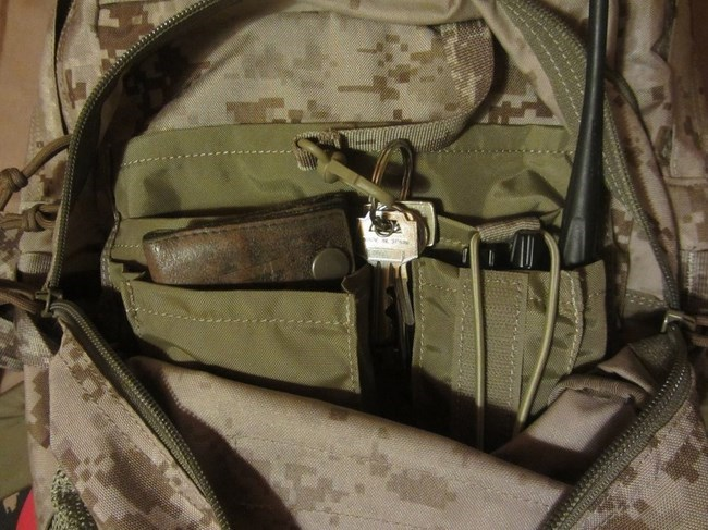 Utility pouch Jumpable backpack