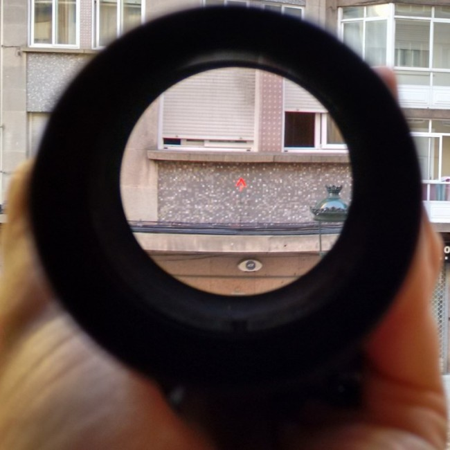 Mustang Scope red dot