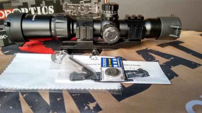 Mustang Scope unboxing