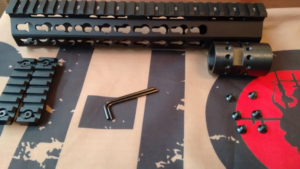 Vector Optics KeyMod Slim rail