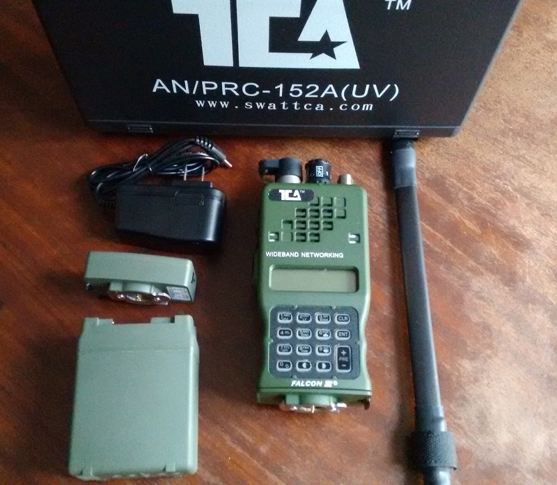 Me Power Reviews >> TCA PRC-152 Unboxing - Mundo Airsofter