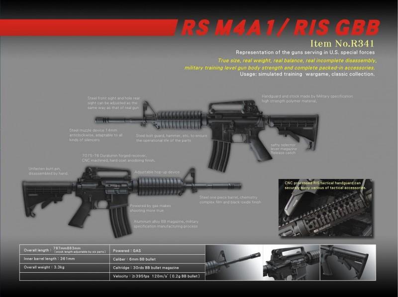Real Sword M4