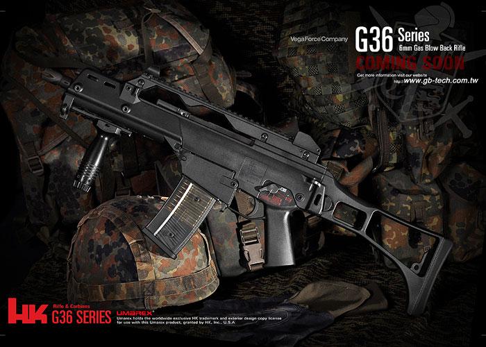 G36c GBB Vega Force Company Umarex