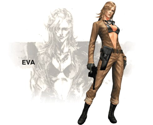 Eva Metal Gear solid 3