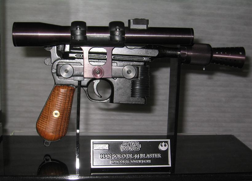 Han Solo DL-44 blaster