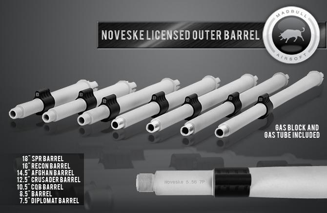 Madbull Noverske Outer Barrels