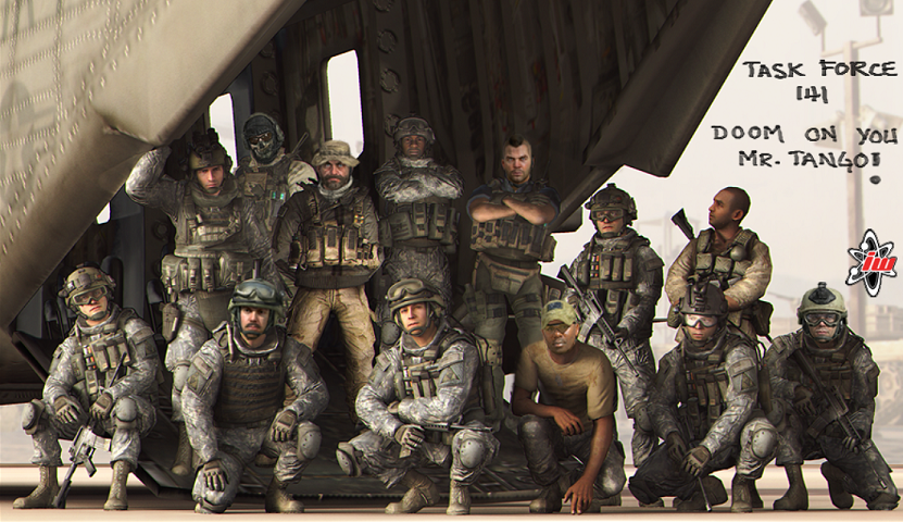 Modern Warfare Task Force 141
