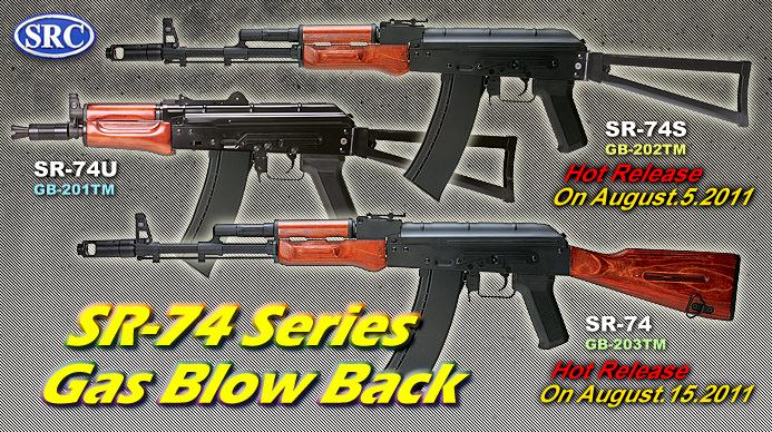 SRC AK 74 Gas Blowback GBB