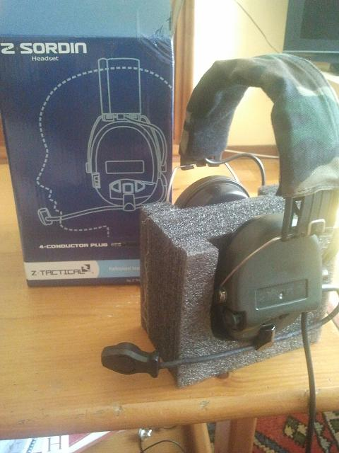 ZTactical Sordin Headset