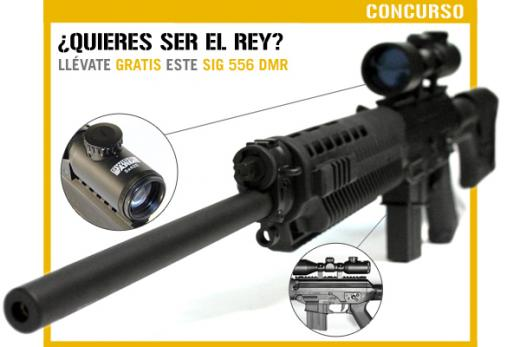 CONCURSO King Arms SIG 552 DMR