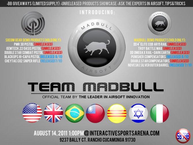 Team Madbull Releases