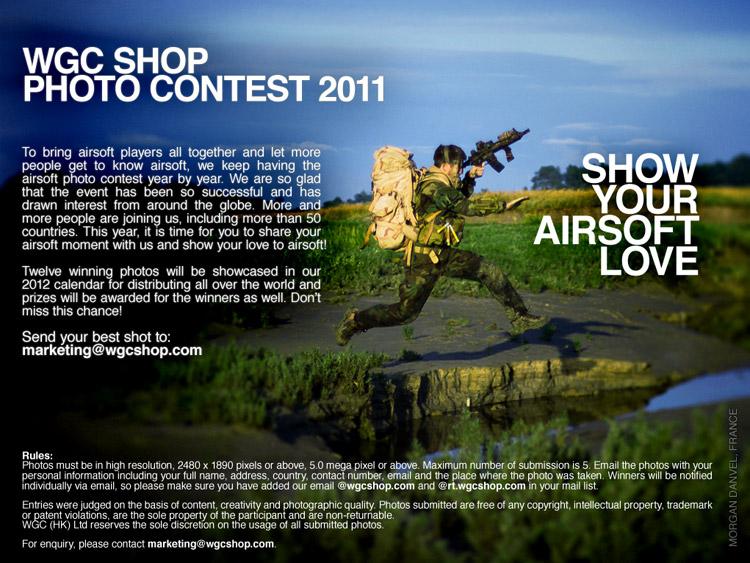 WGCShop Love Airsoft Concurso 2011