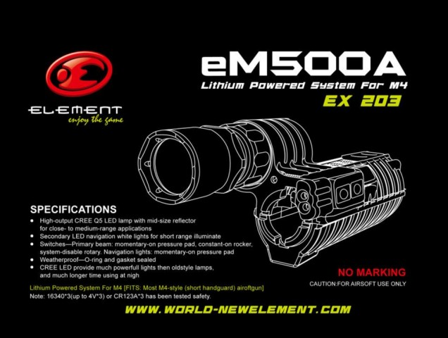 Element M500A