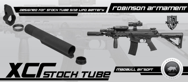 Madbull Airsoft XCR stock tube