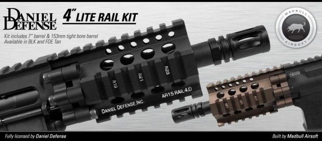 Daniel Defense Lite Rail