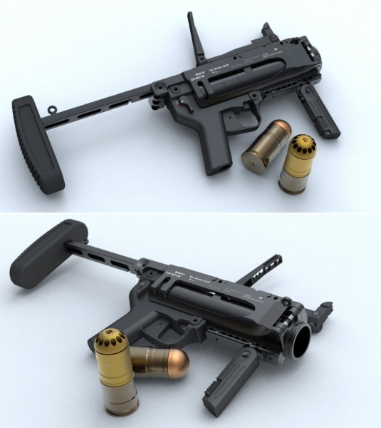iron airsoft m320a1