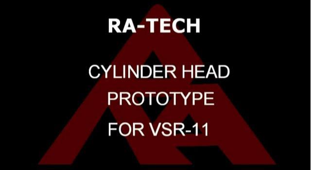 RaTech Cabeza de cilindro para VSR11