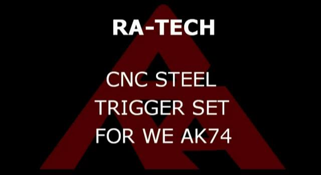 RaTech WE AK 74 steel trigger set
