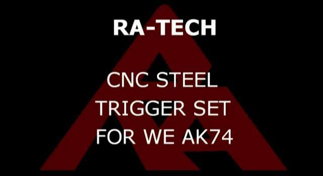 RaTech WE AK 74 steel trigger set