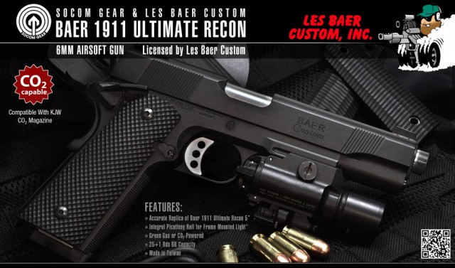 SOCOM Gear Les Baer 1911 Ultimate Recon
