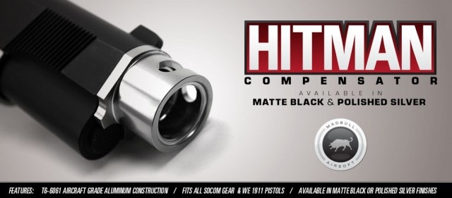 madbull airsoft 1911 hitman compensators