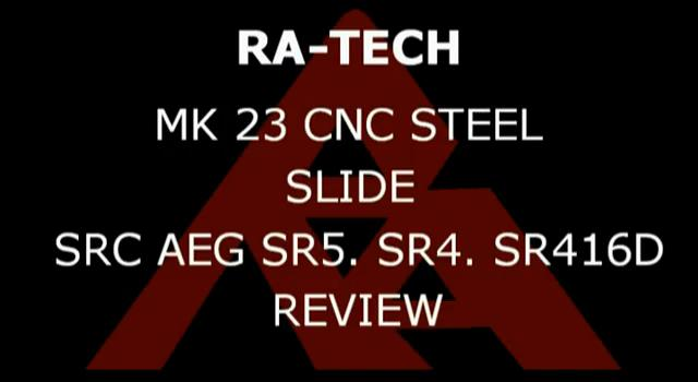 RaTech KSC MK23 Steel slide