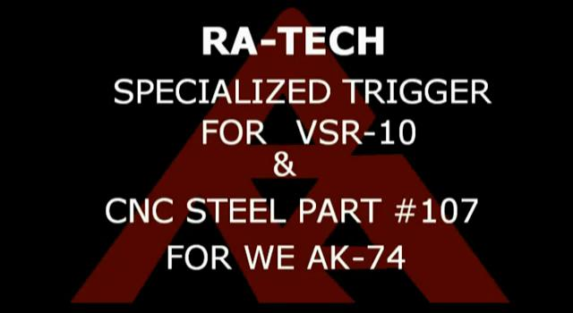 RaTech VSR-11 Trigger WE AK 74 Spring guide