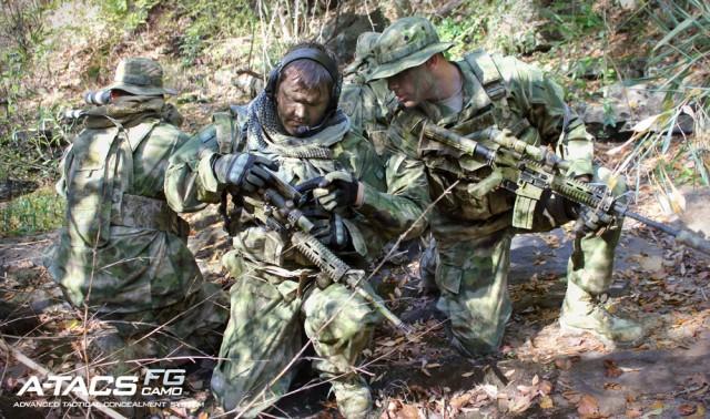 equipamiento A-TACS FG