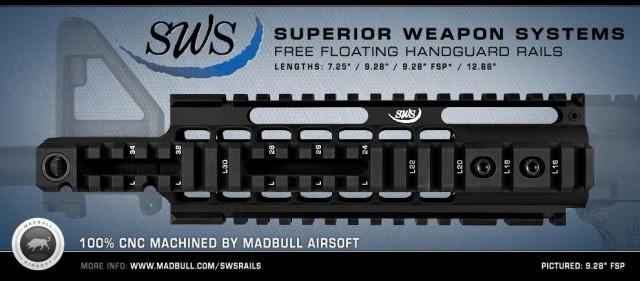 Madbull Airsoft SWS Rail