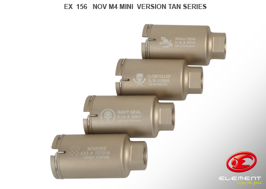 Element Noveske M4 Flash hider TAN