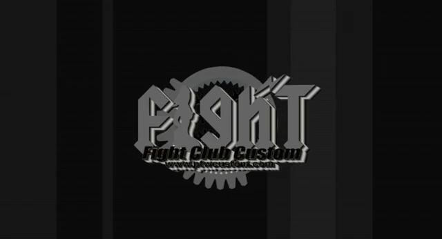Fight Club Custom Logo
