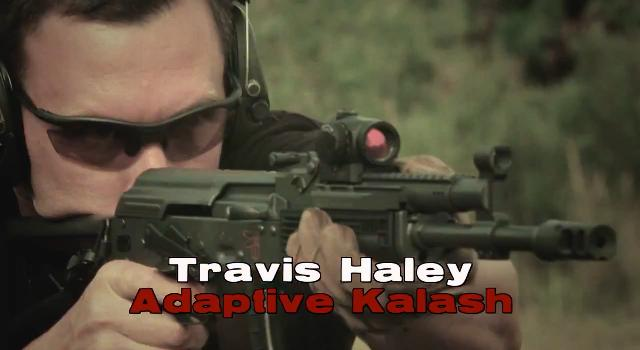 Make ready with Travis Haley Adaptive Kalash