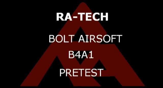 RaTech Bolt Airsoft B4A1
