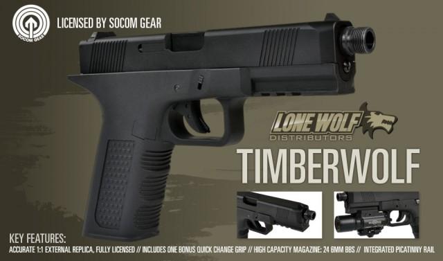 SOCOM Gear TimberWolf Lone Wolf