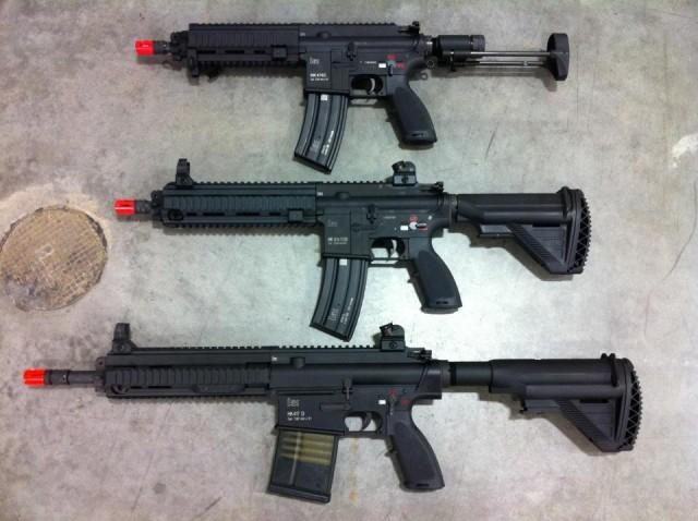 Vega Force Company HK417 HK416C