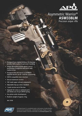 ASG Vega Force Company APO ASW338