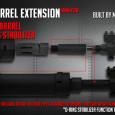 Madbull Airsot ha mostrado su próximo lanzamiento en cuanto a upgrades externos: El Madbull Airsoft Barrel Extension.