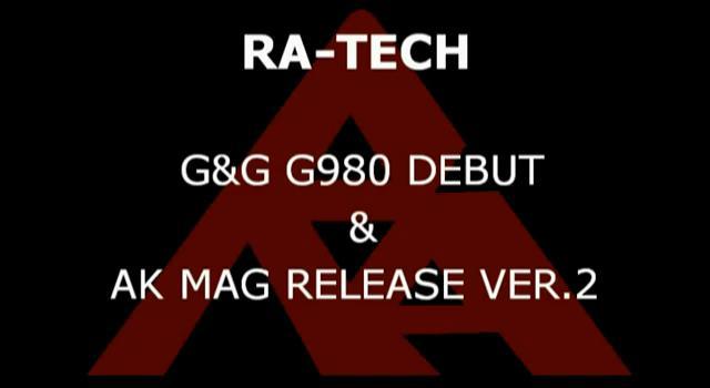 RaTech G&G G980 Kar98 y AK Mag Release